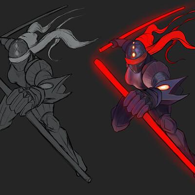 Jon yousef cyborg ninja female