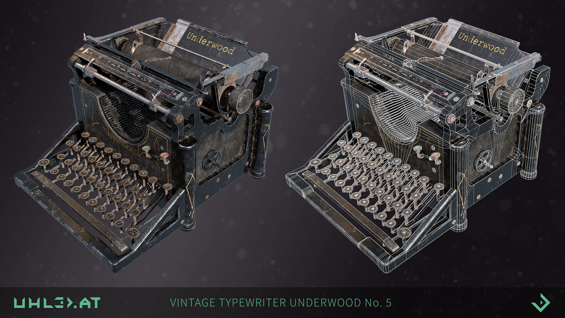 Dominik uhl typewriter underwood 01
