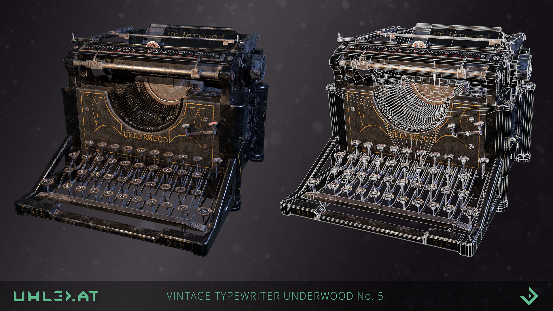 Dominik uhl typewriter underwood 03