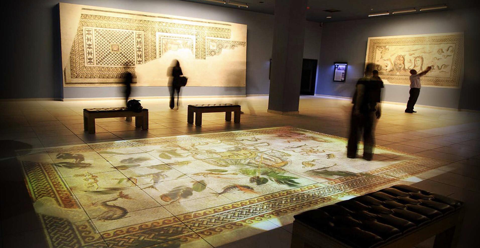 Interactive Roman Pool, Zeugma Museum 2010