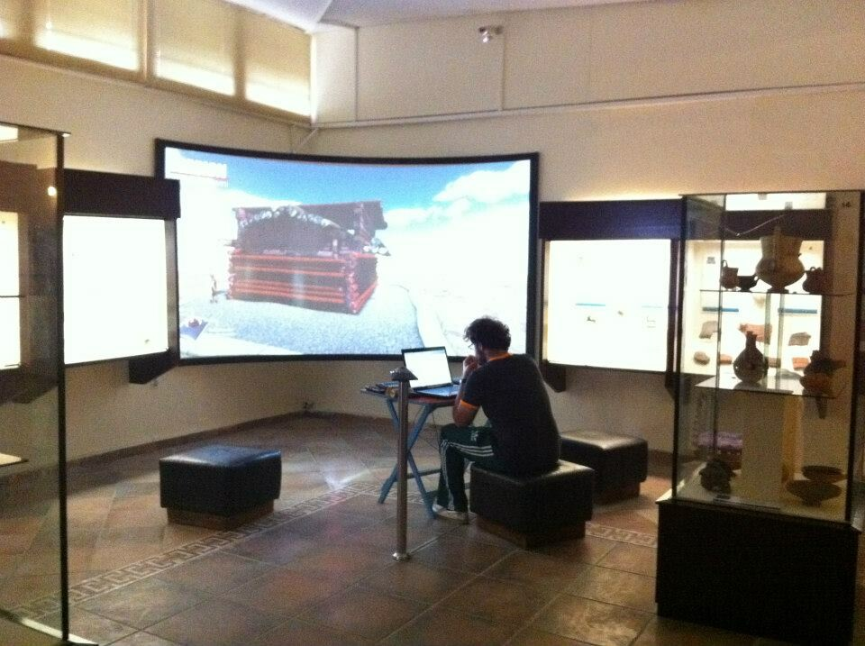 King Midas Tumulus Inspection System, Gordion Museum, 2013
