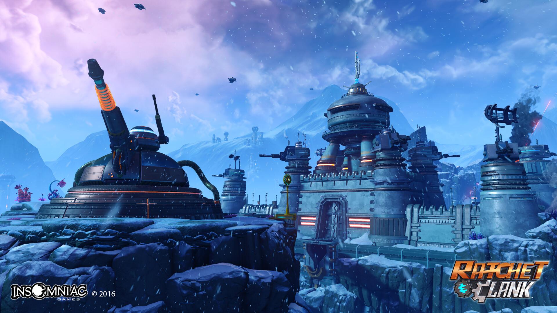 Artstation Ratchet And Clank Ps4 Planet Batalia Ryan Benno
