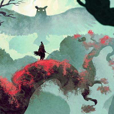Anato finnstark sekiro the deep forest by anatofinnstark dd6adi0 fullview