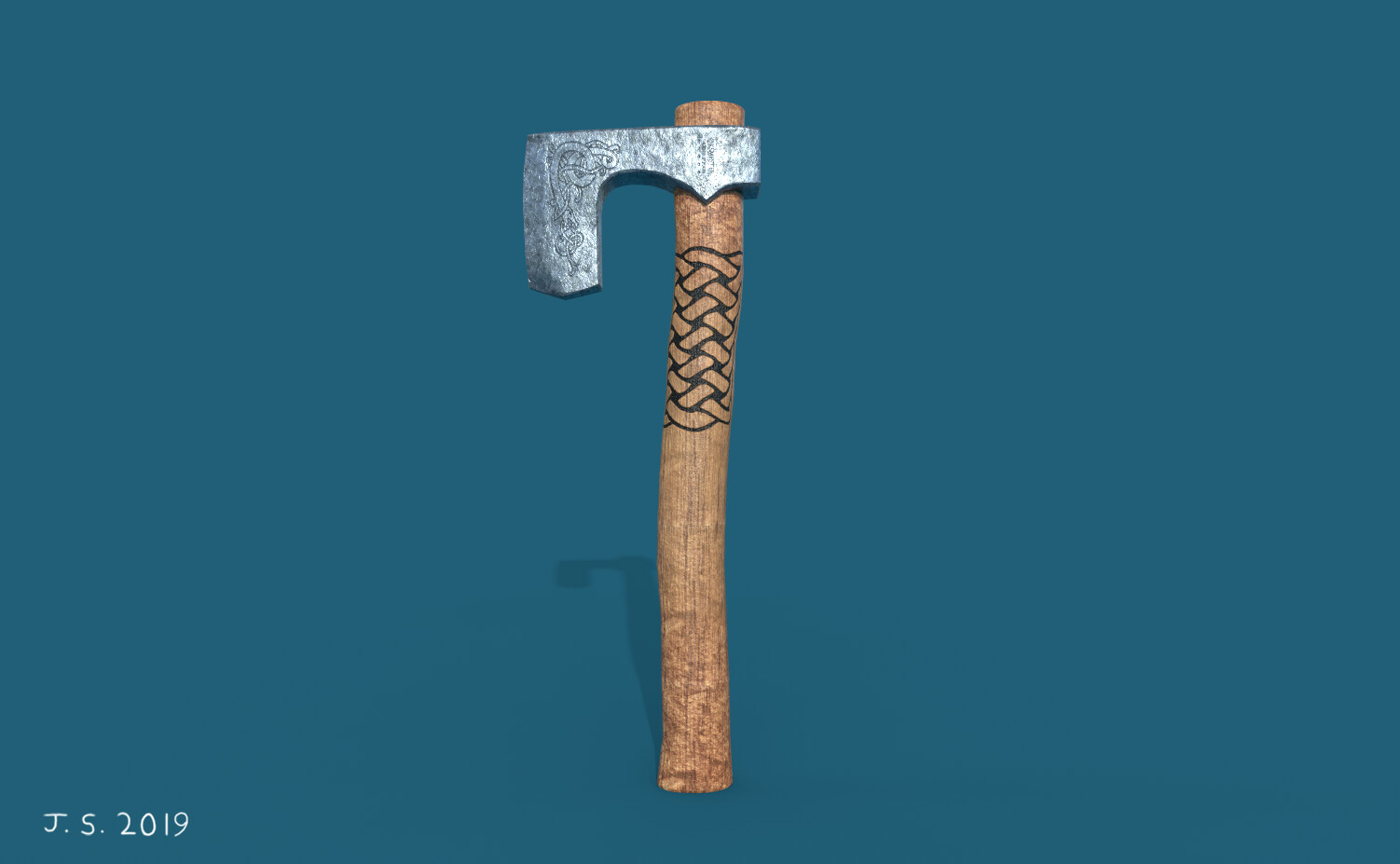James skinner axe1 render2