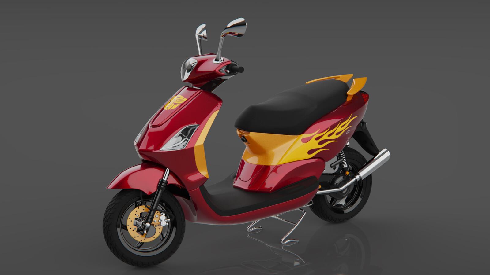 Yamaha Mio Scooter