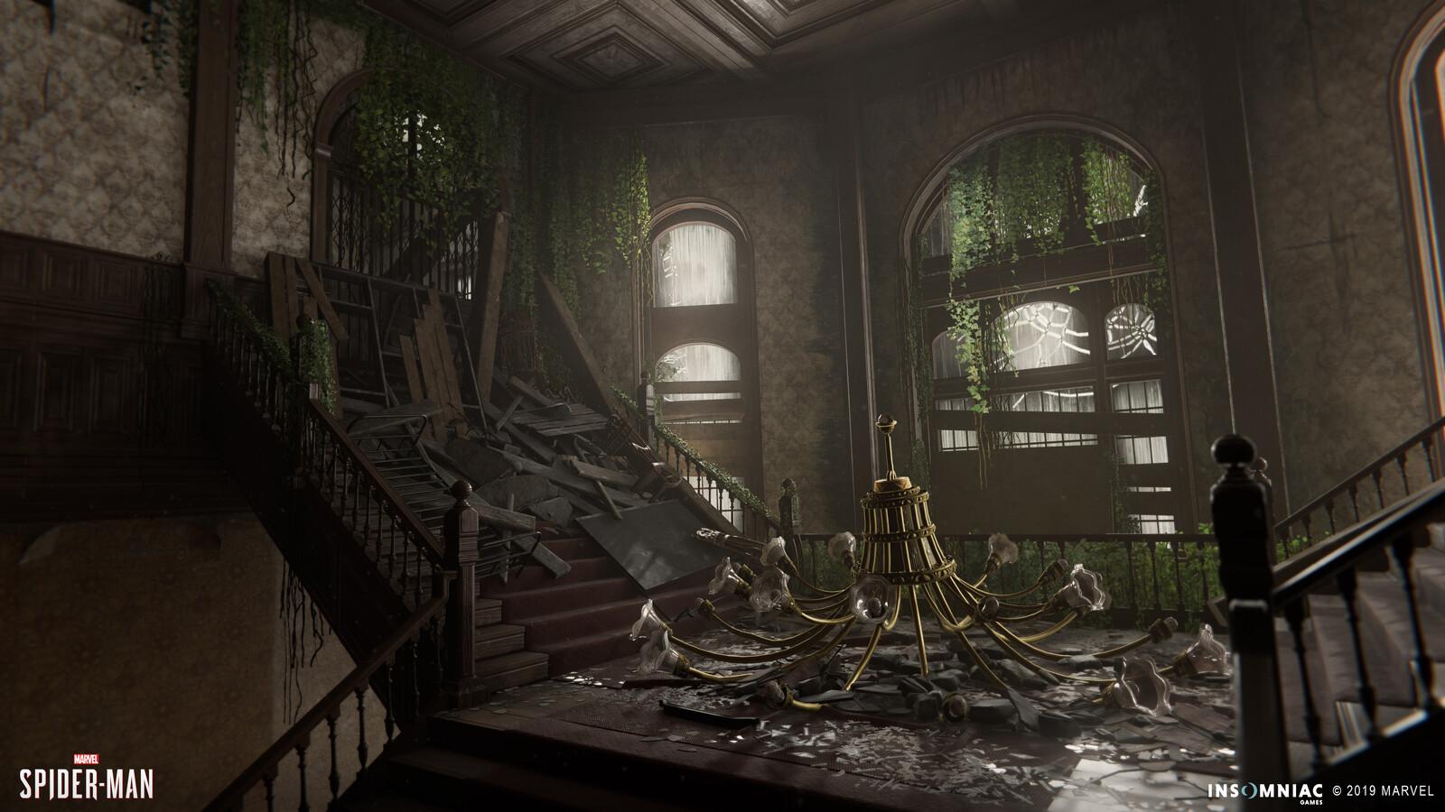 Spider-Man PS4: DLC -  Sanitarium