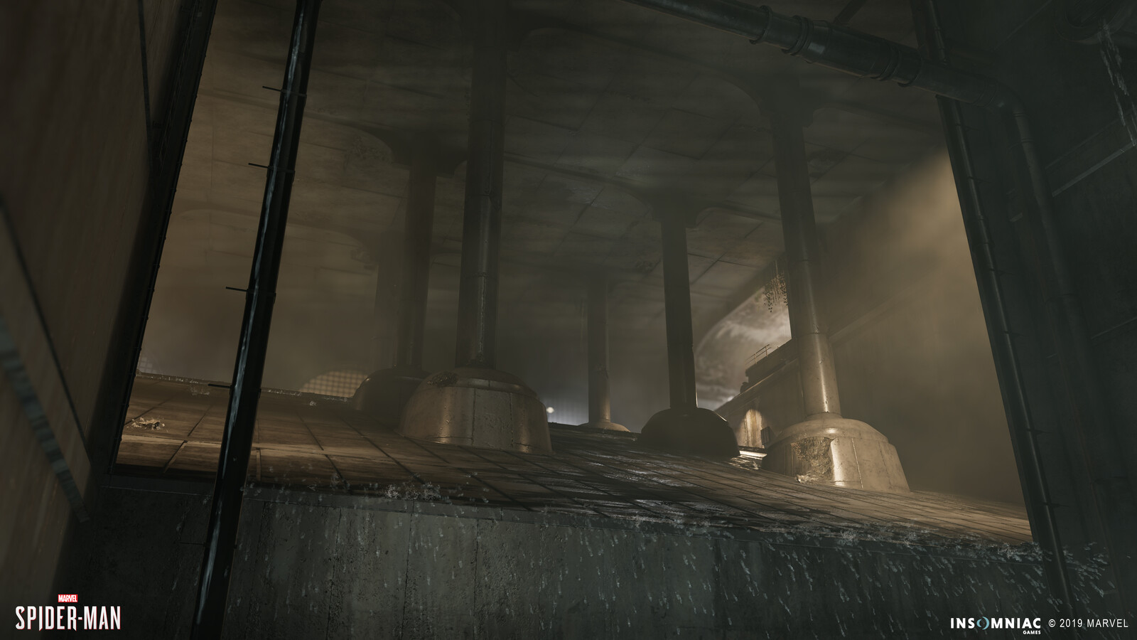 Spider-Man PS4: DLC -  Sewers