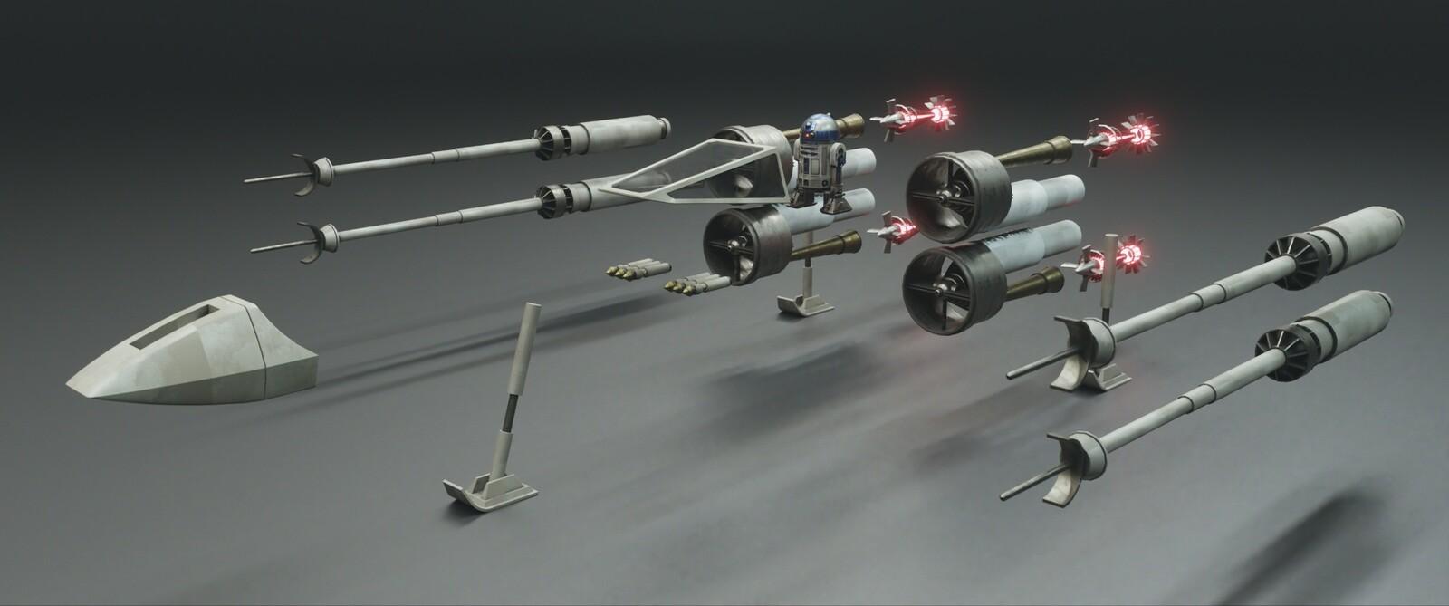 Next starwars project....