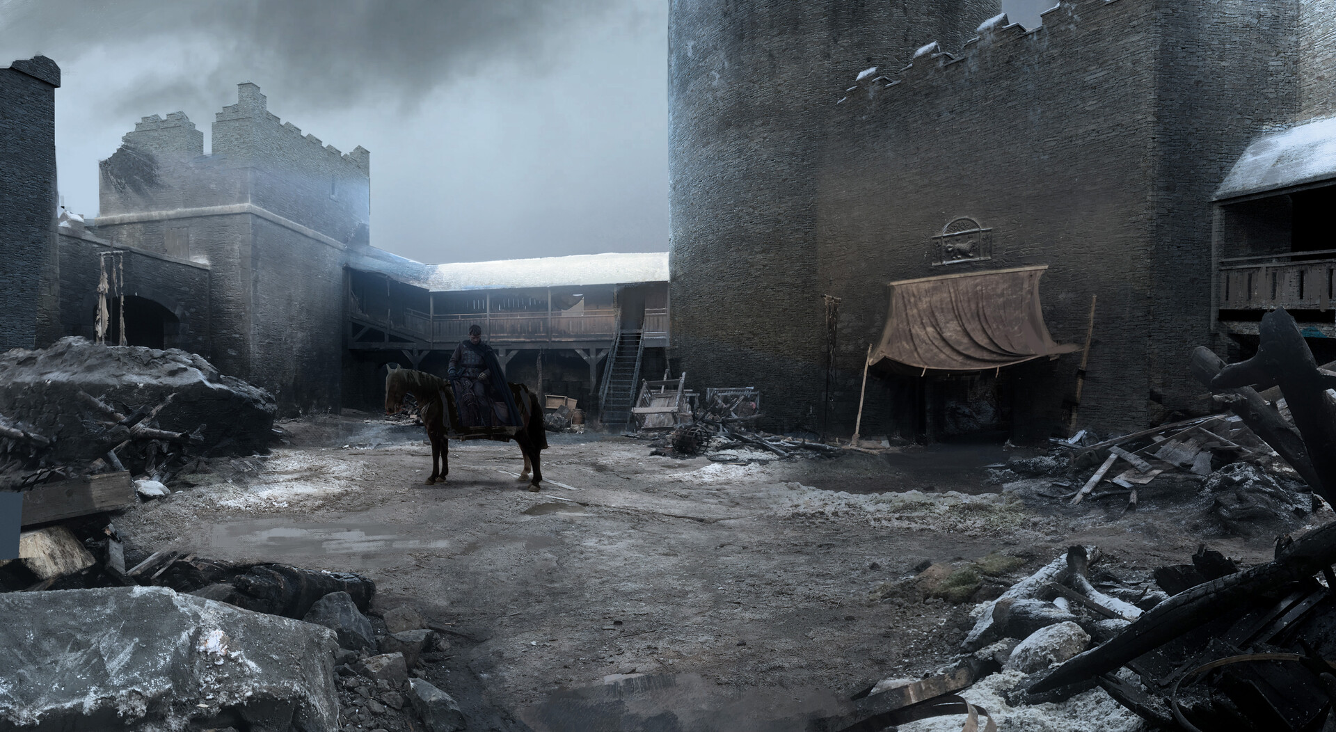 Kieran belshaw winterfell maincourtyard v002a