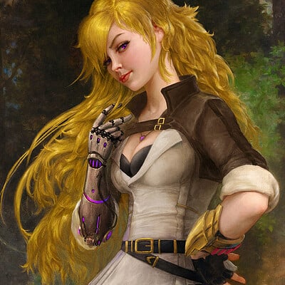 Yang Xiao Long (Hunter Version) after Bouguereau