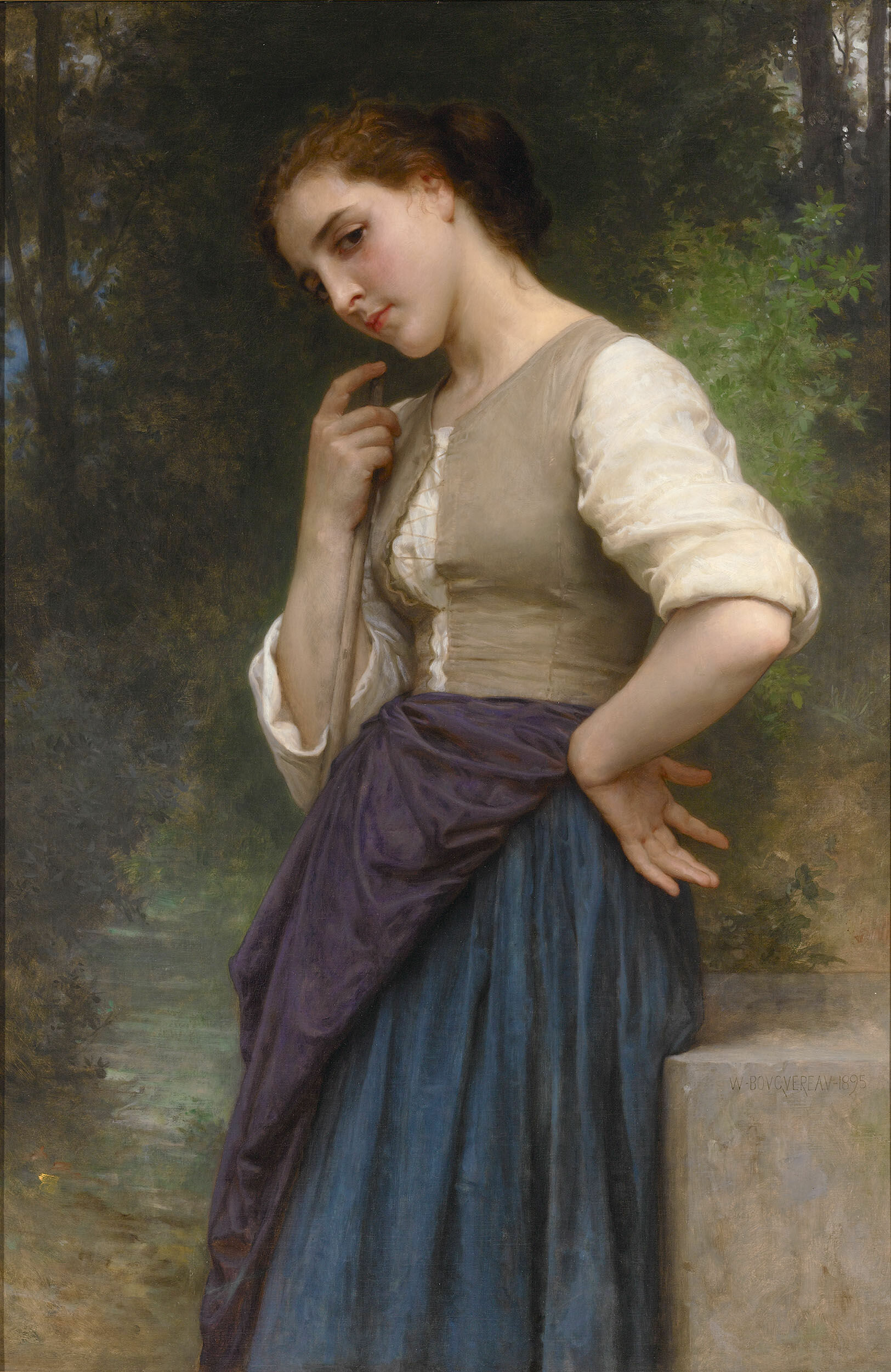 Reference - Original from W. A. Bouguereau