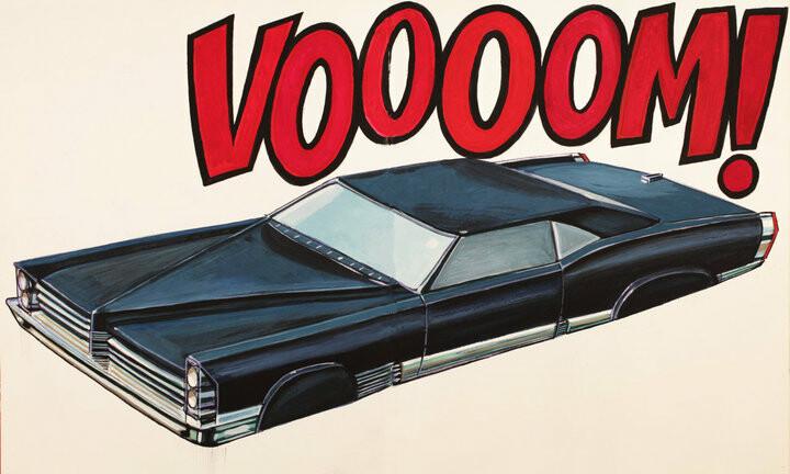 "Vehicle design for "" Black Ice"""