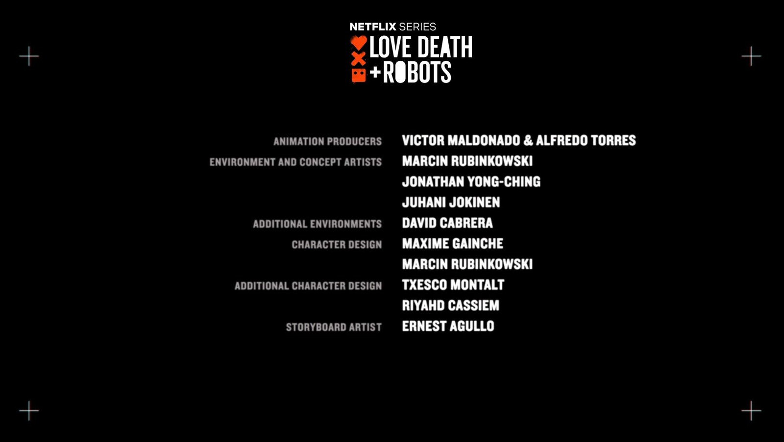 Love Death and Robots - Three Robots credits