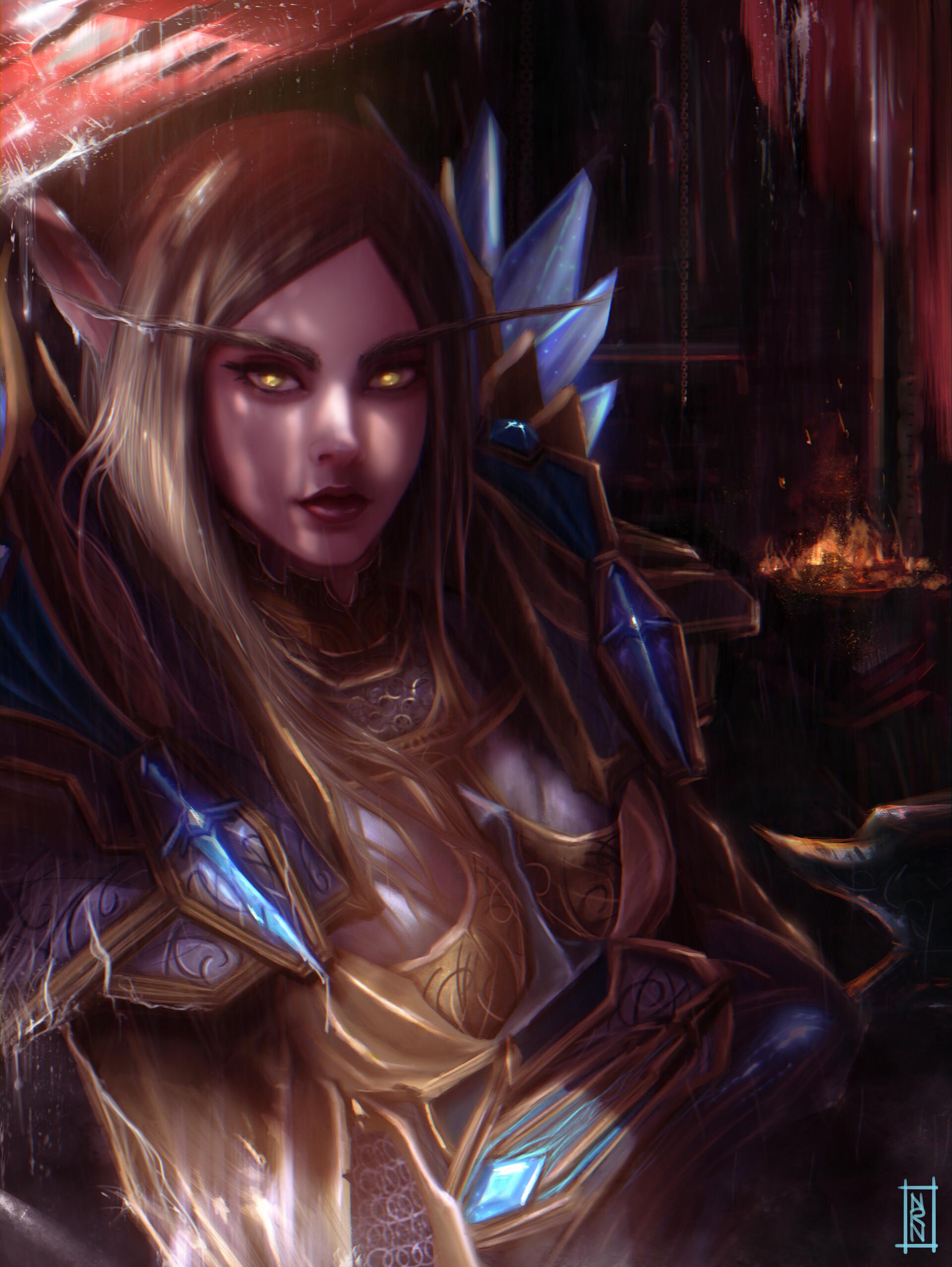 ArtStation - Sæssy - Warcraft , Natalia Romero Núñez