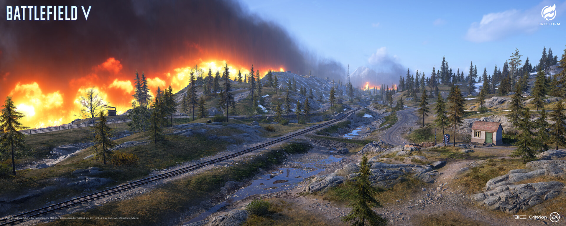 BATTLEFIELD V: FIRESTORM – Halvøy Level Art