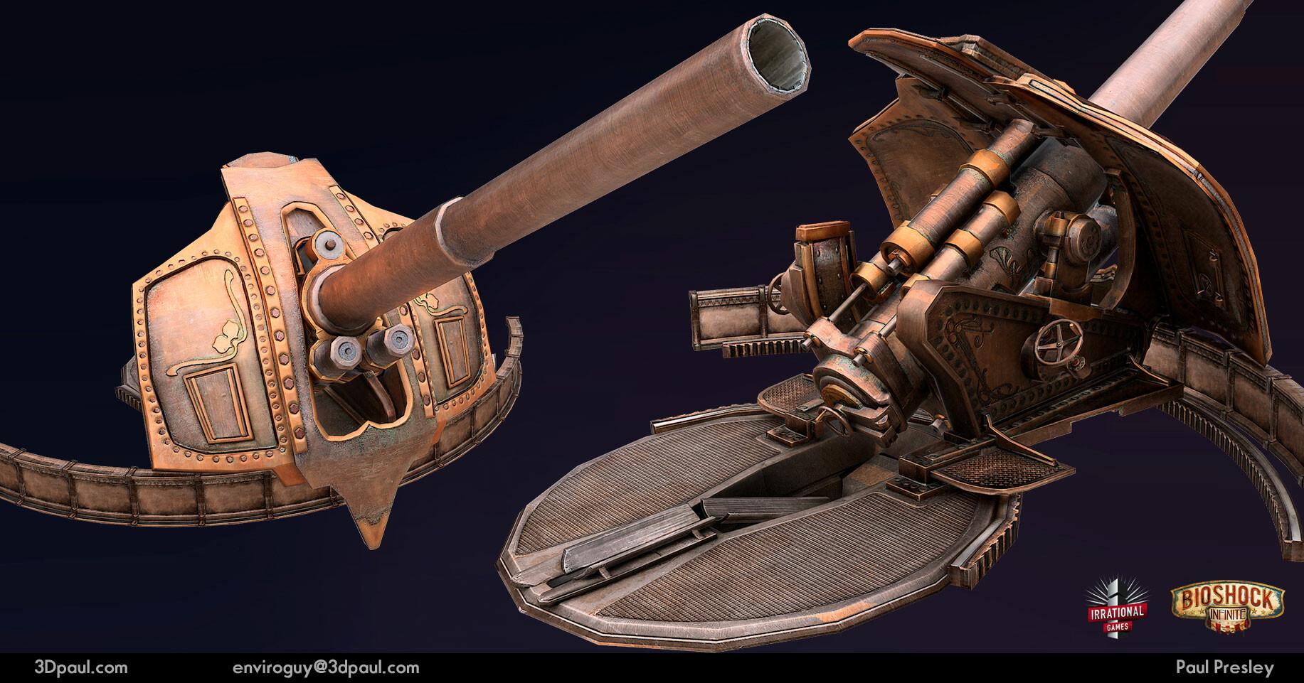 Paul presley 04 artillery