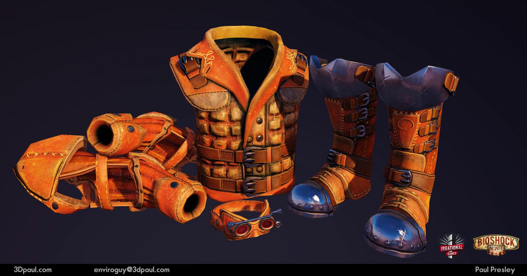 Paul presley 34 gearequipment