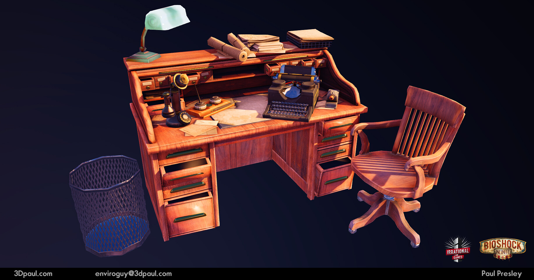 Paul presley 31 desk1