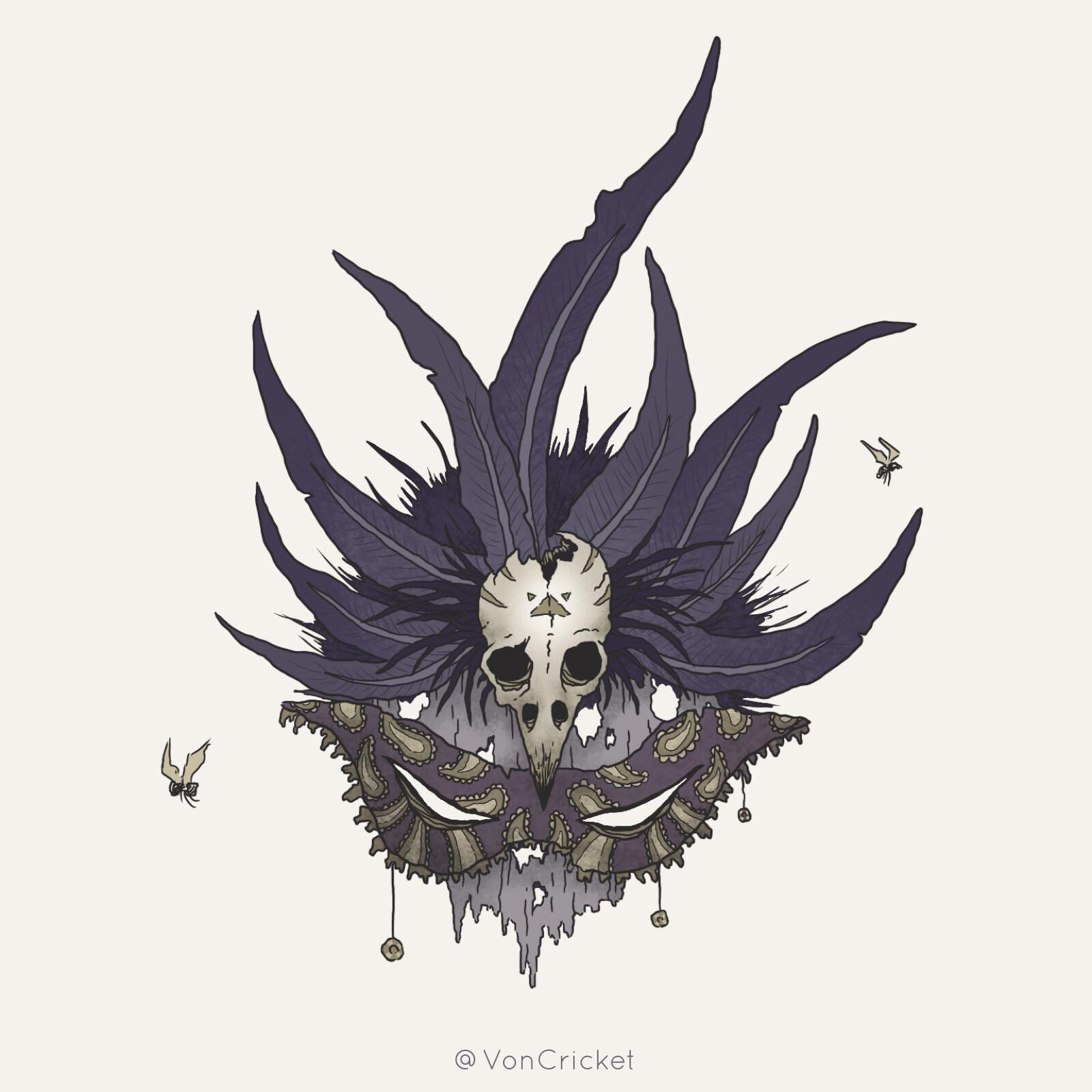 Voodoo Priestess Mask