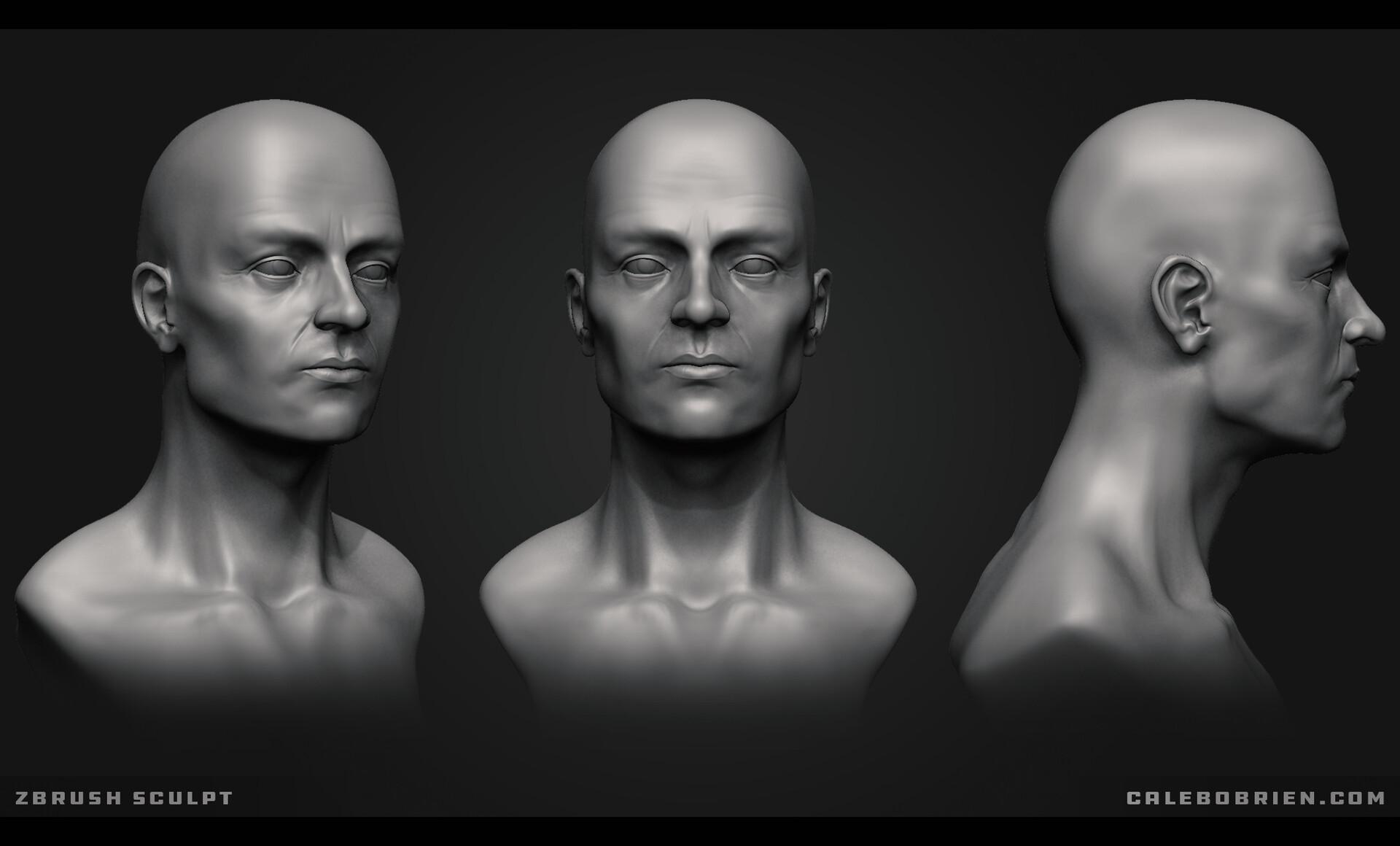 Caleb o brien zbrush sculpt01
