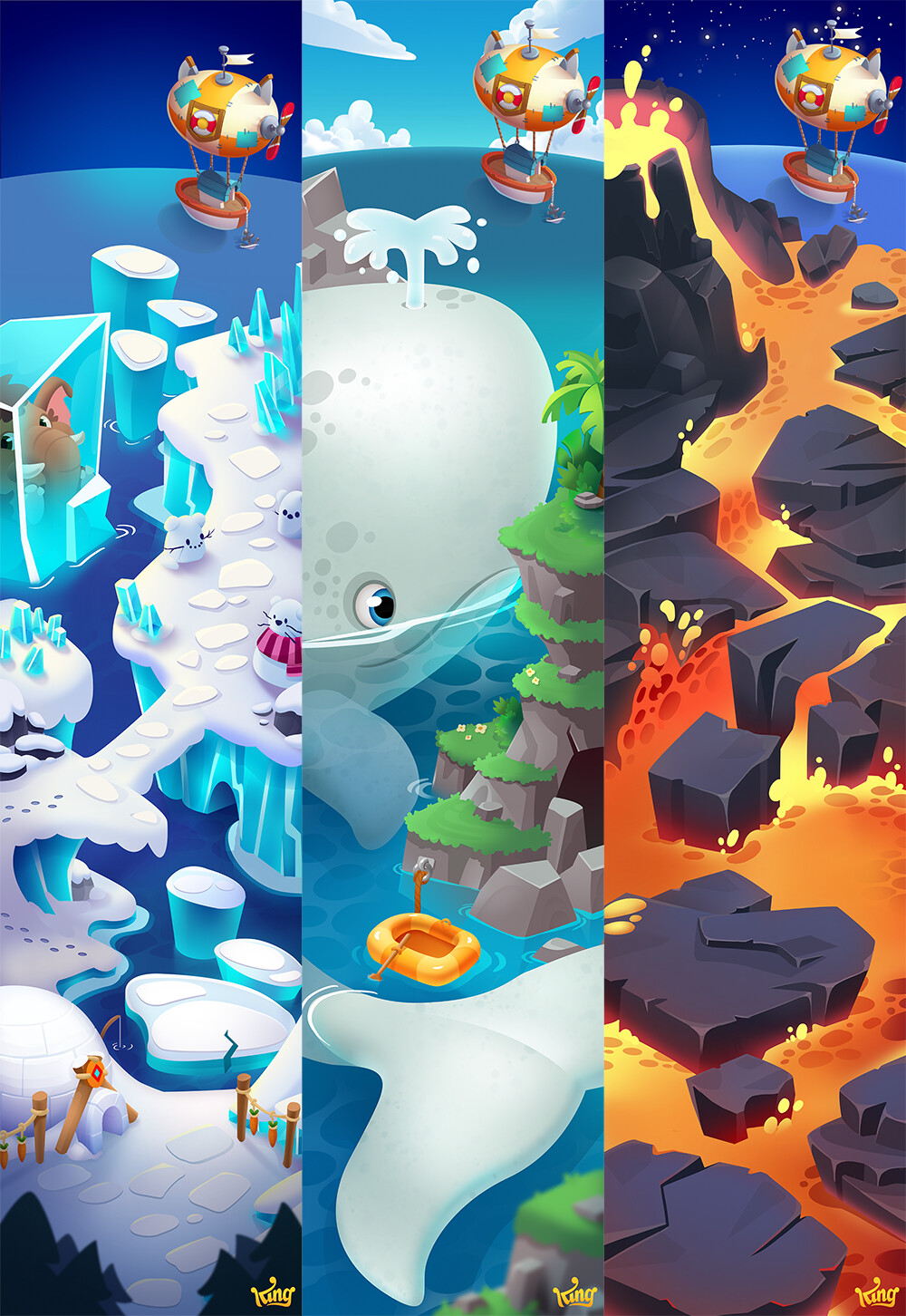 Elin Andersson - Pet Rescue Puzzle Saga - Content Creation