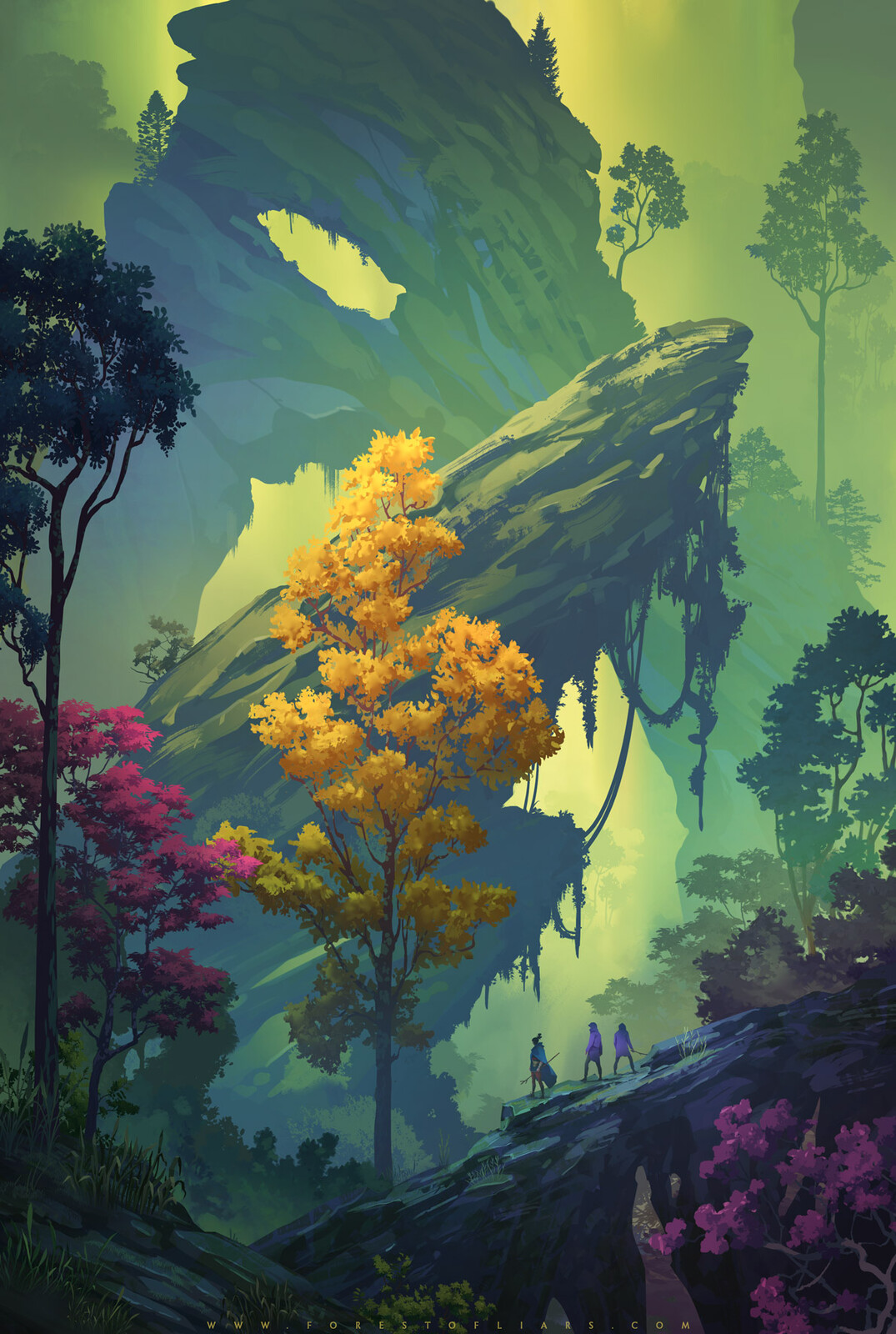 Vegetal Chasm - Forest of Liars