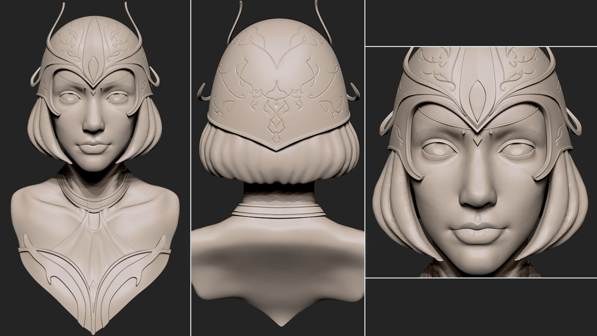 High poly sculpt