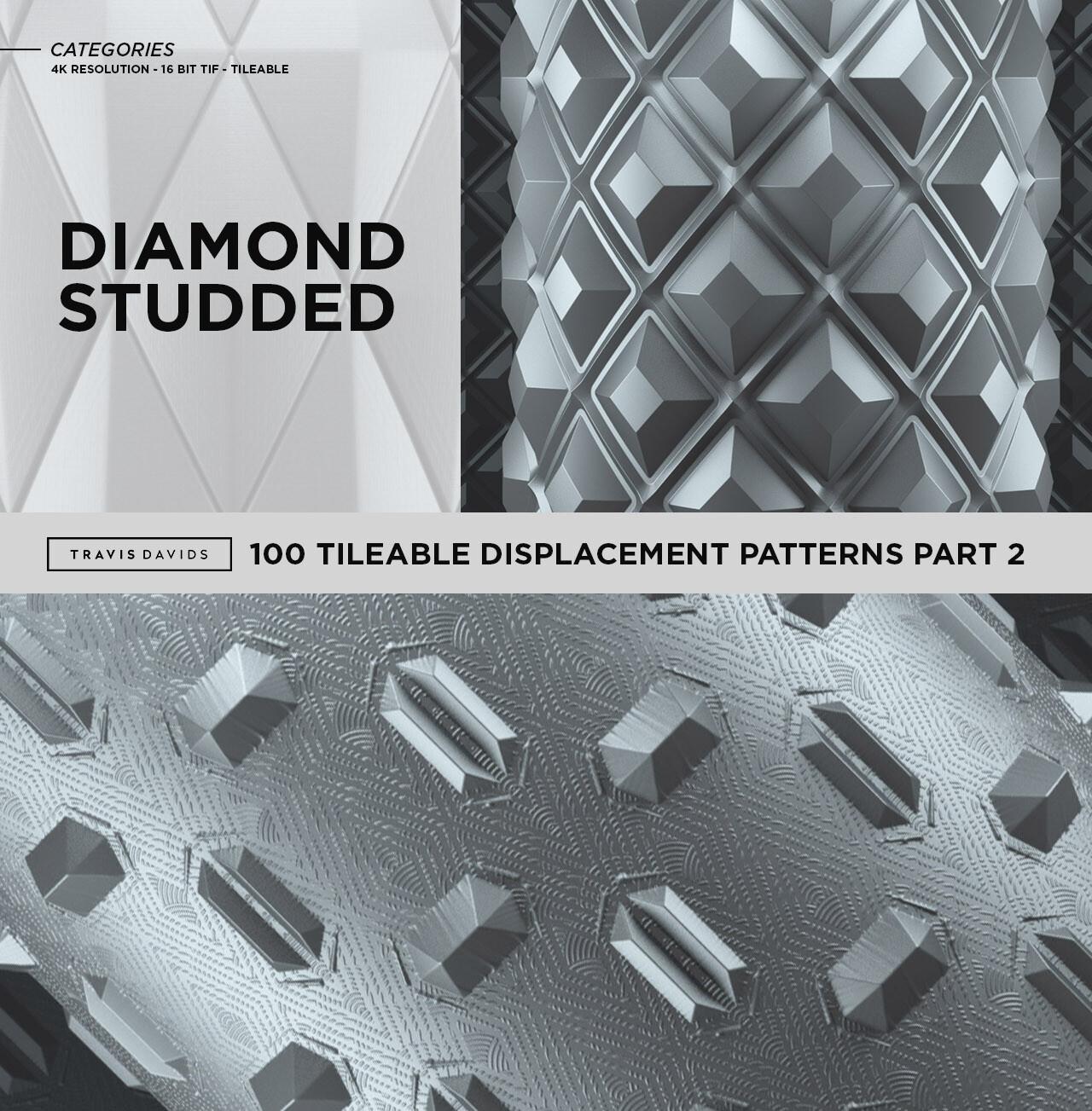 Travis davids categories diamond studded