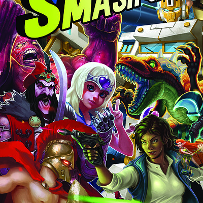 Brendon goodyear smash up poster