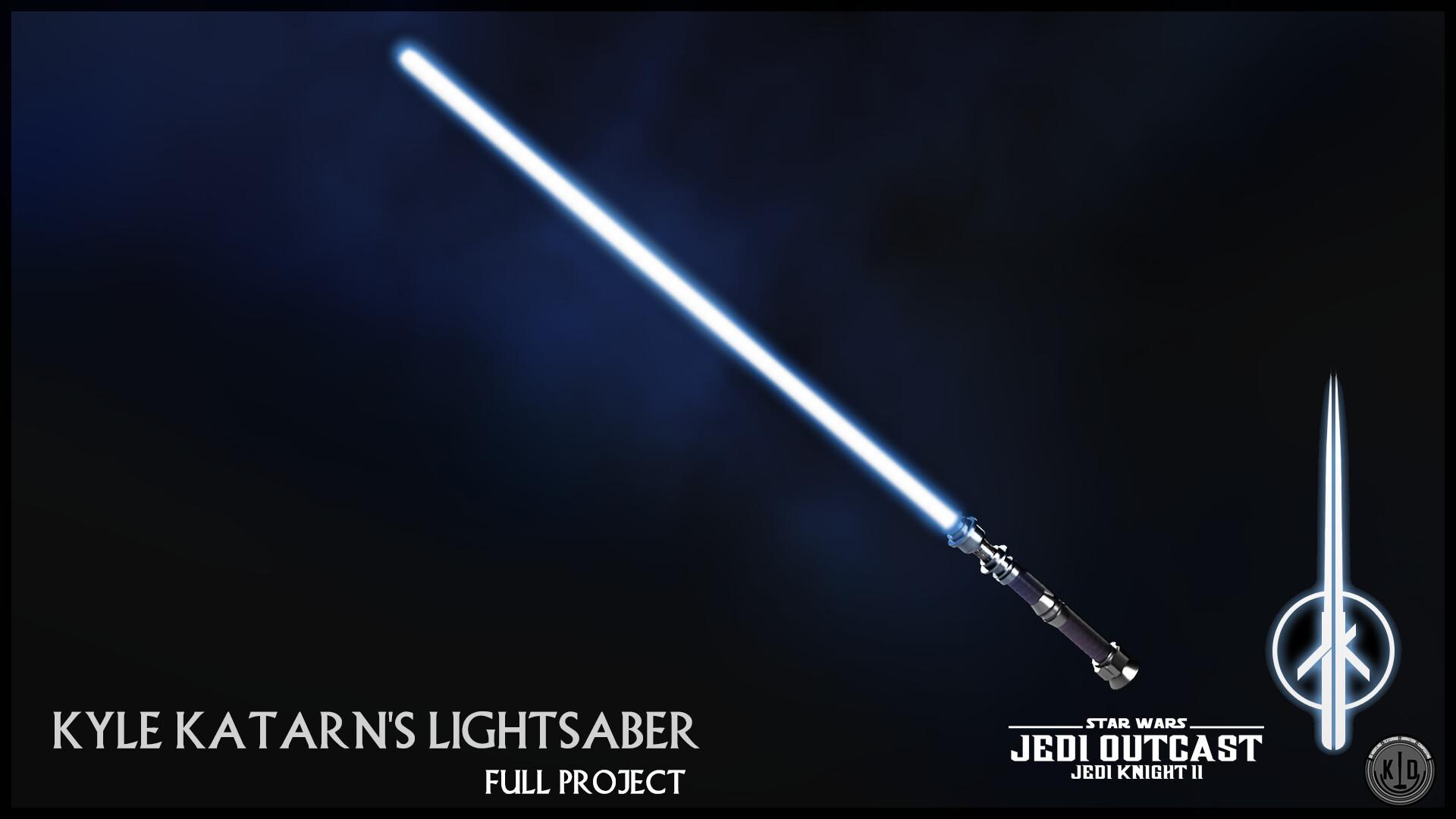 Artstation Star Wars Jedi Knight Ii Kyle Katarn S Lighstaber
