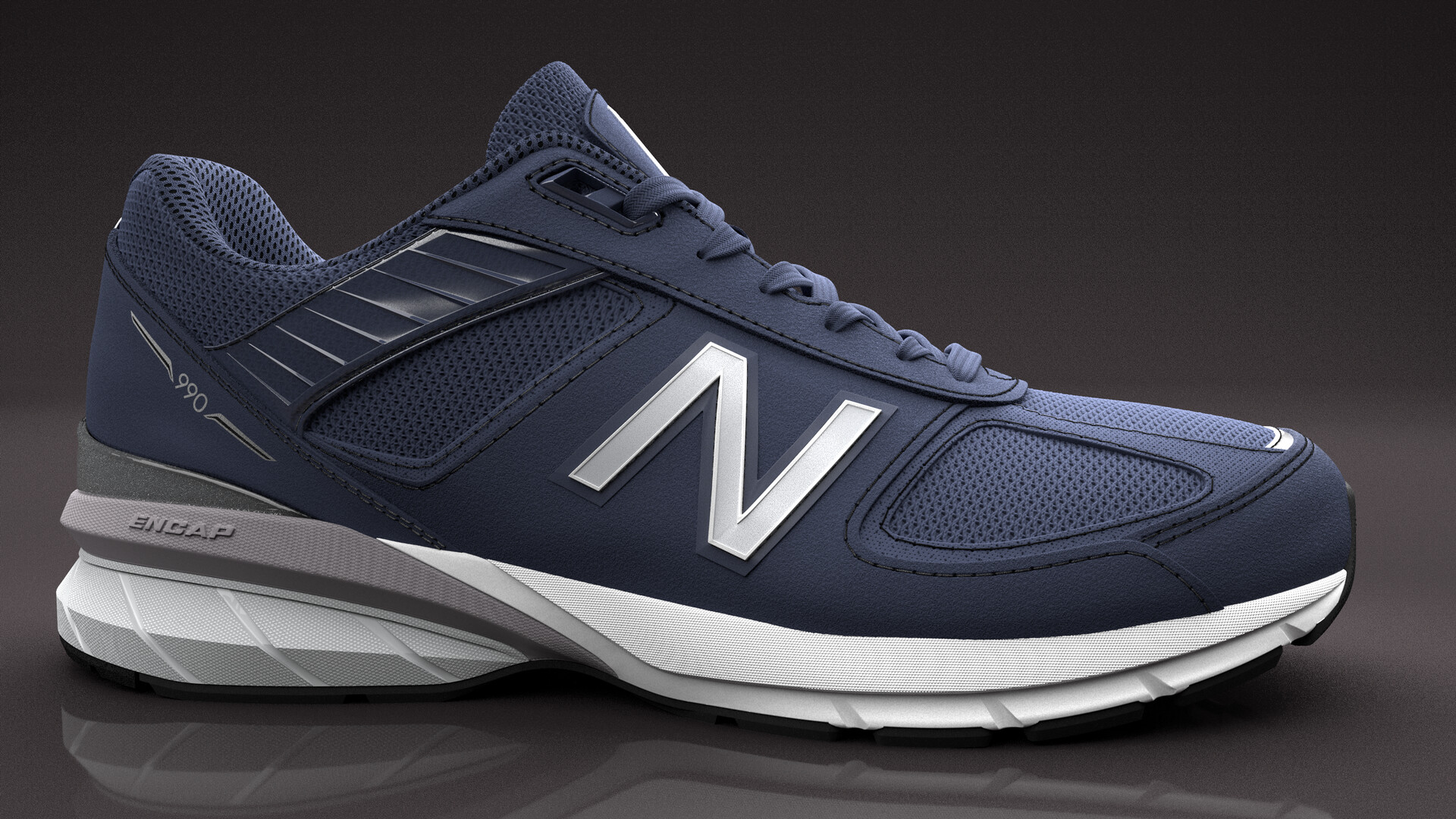 exceptional range of styles top design detailed look Benjamin Ferrante - New Balance 990v5 project