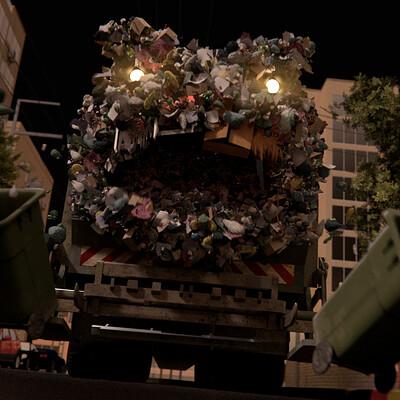 Raz freedman monster truck
