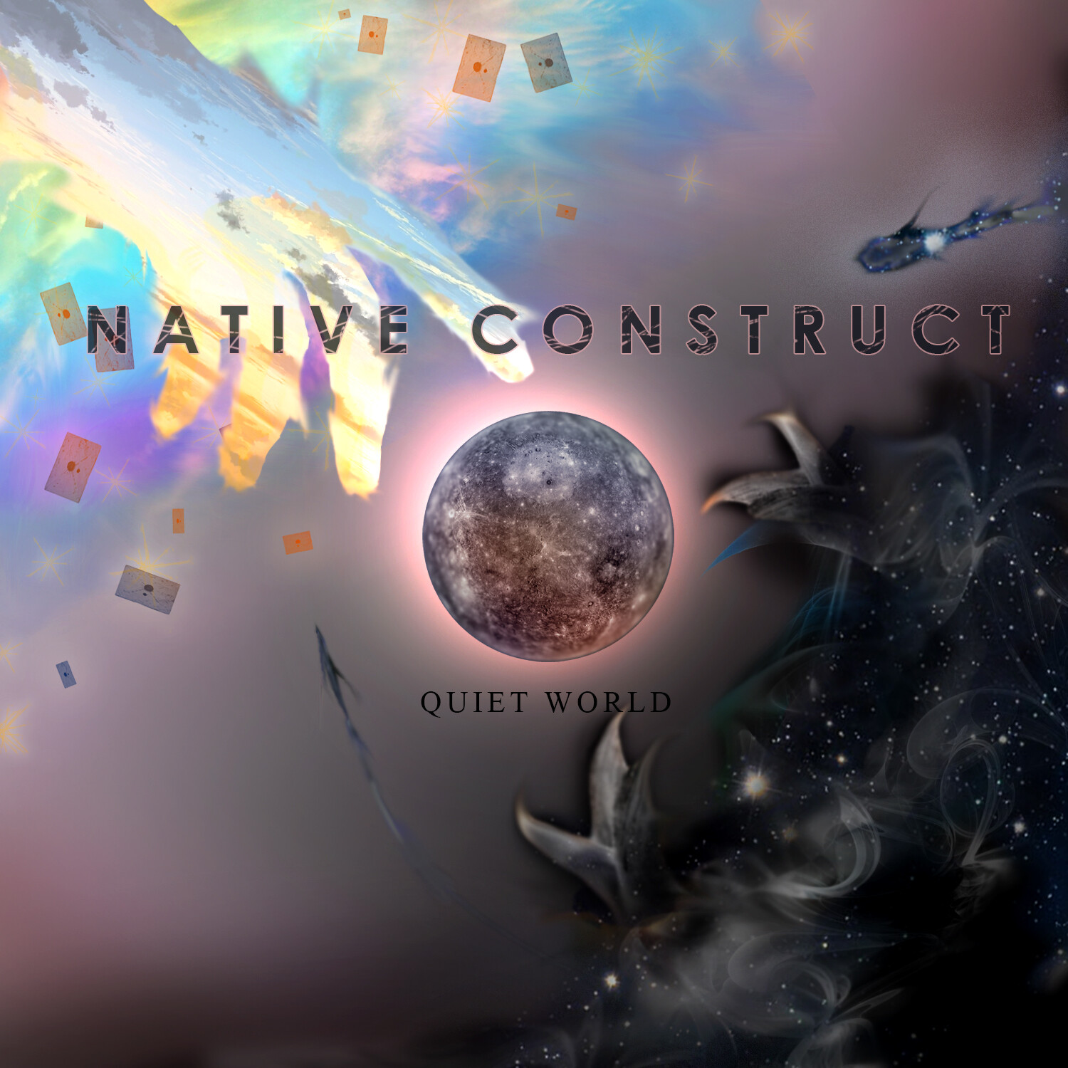 Native Construct Album Inspired Cover Art