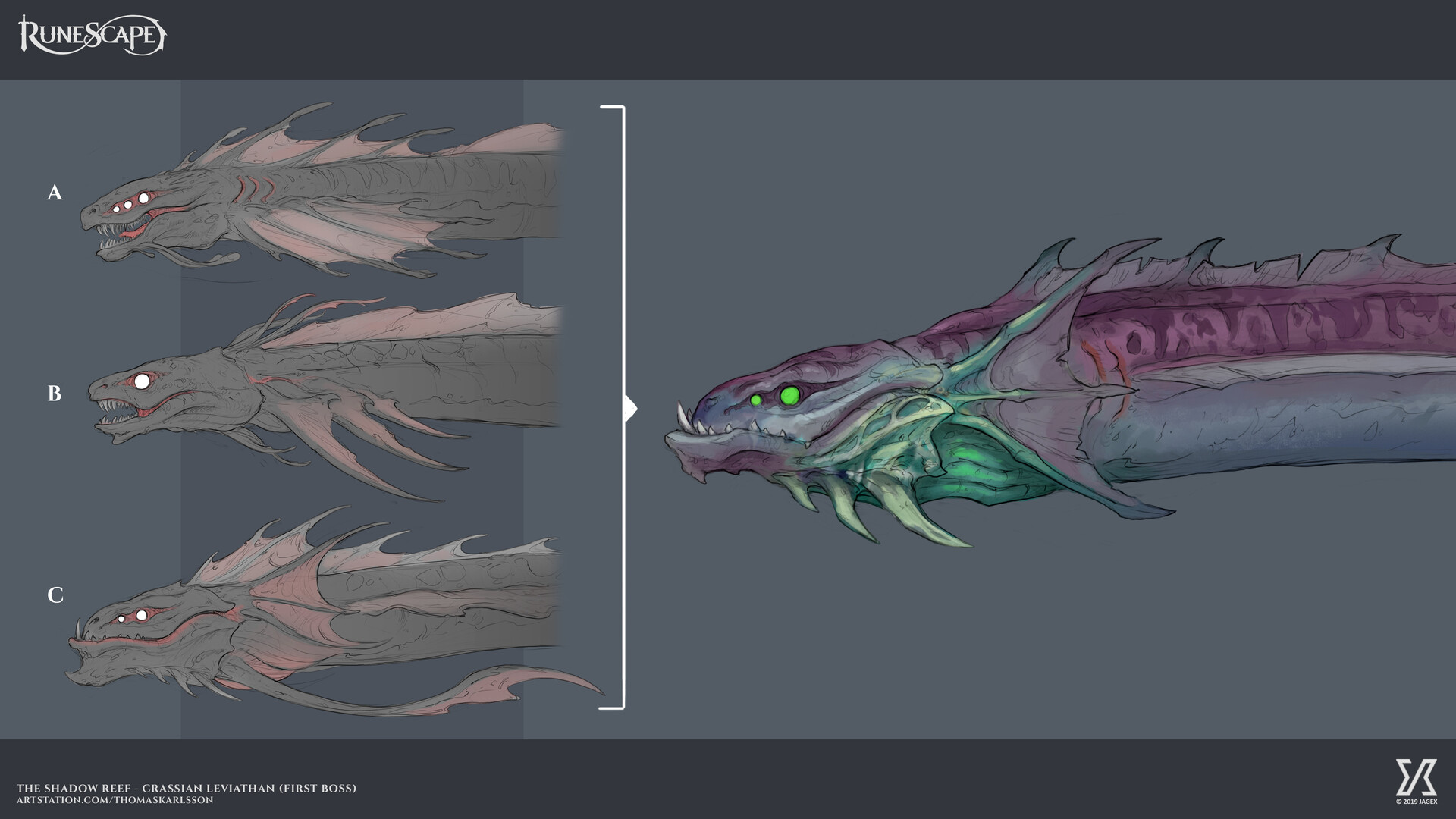ArtStation - RuneScape - Crassian Leviathan, Thomas Karlsson