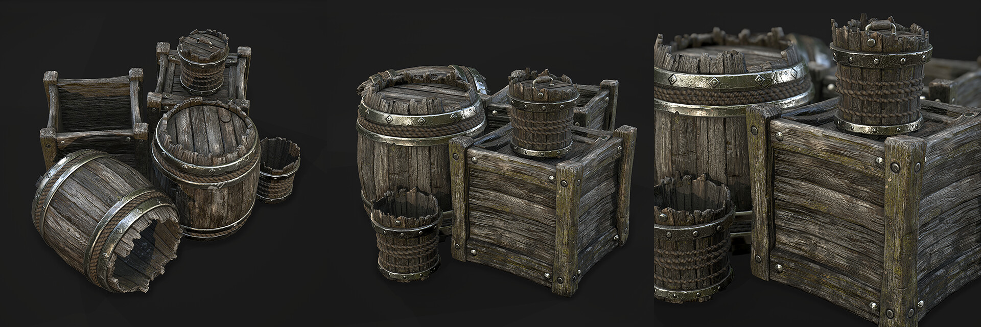3D artist/Texture artist looking for work  — polycount