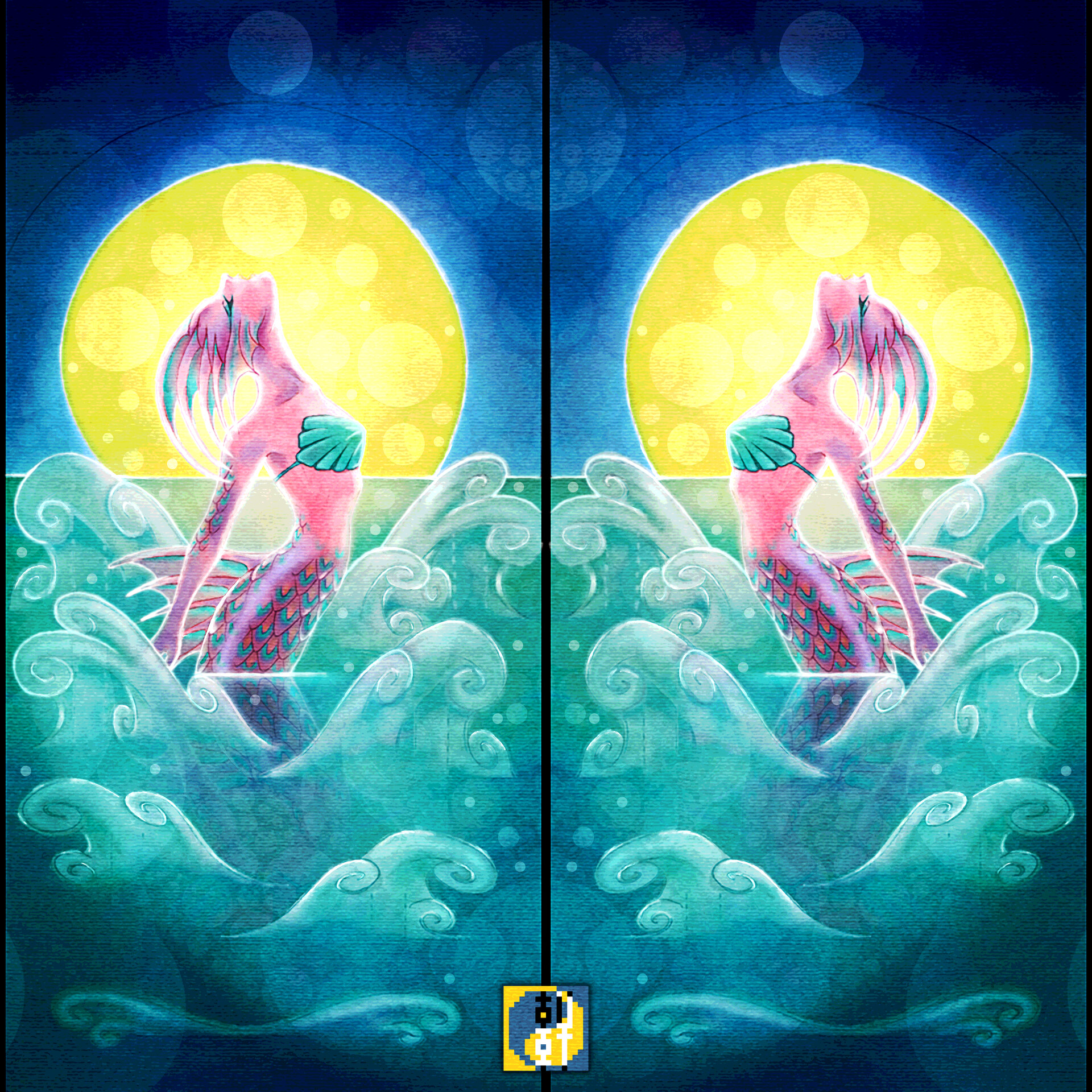 Eric lynx lin mermaidcard01b