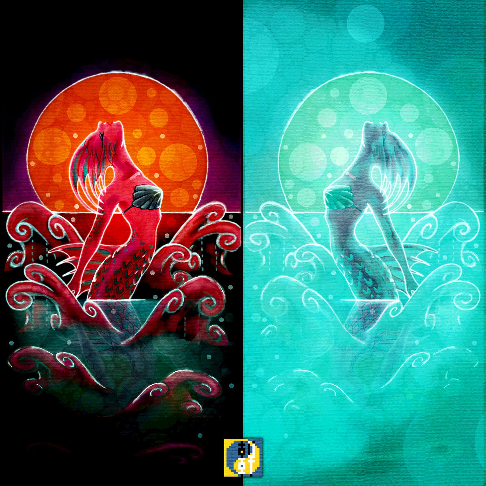 Eric lynx lin mermaidcard02