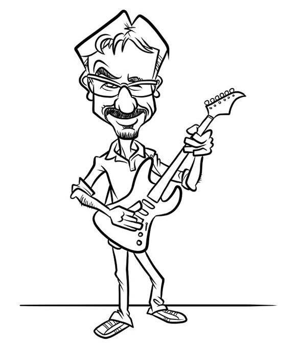 Steve rampton steve rampton thumbnail claudia guitar ink