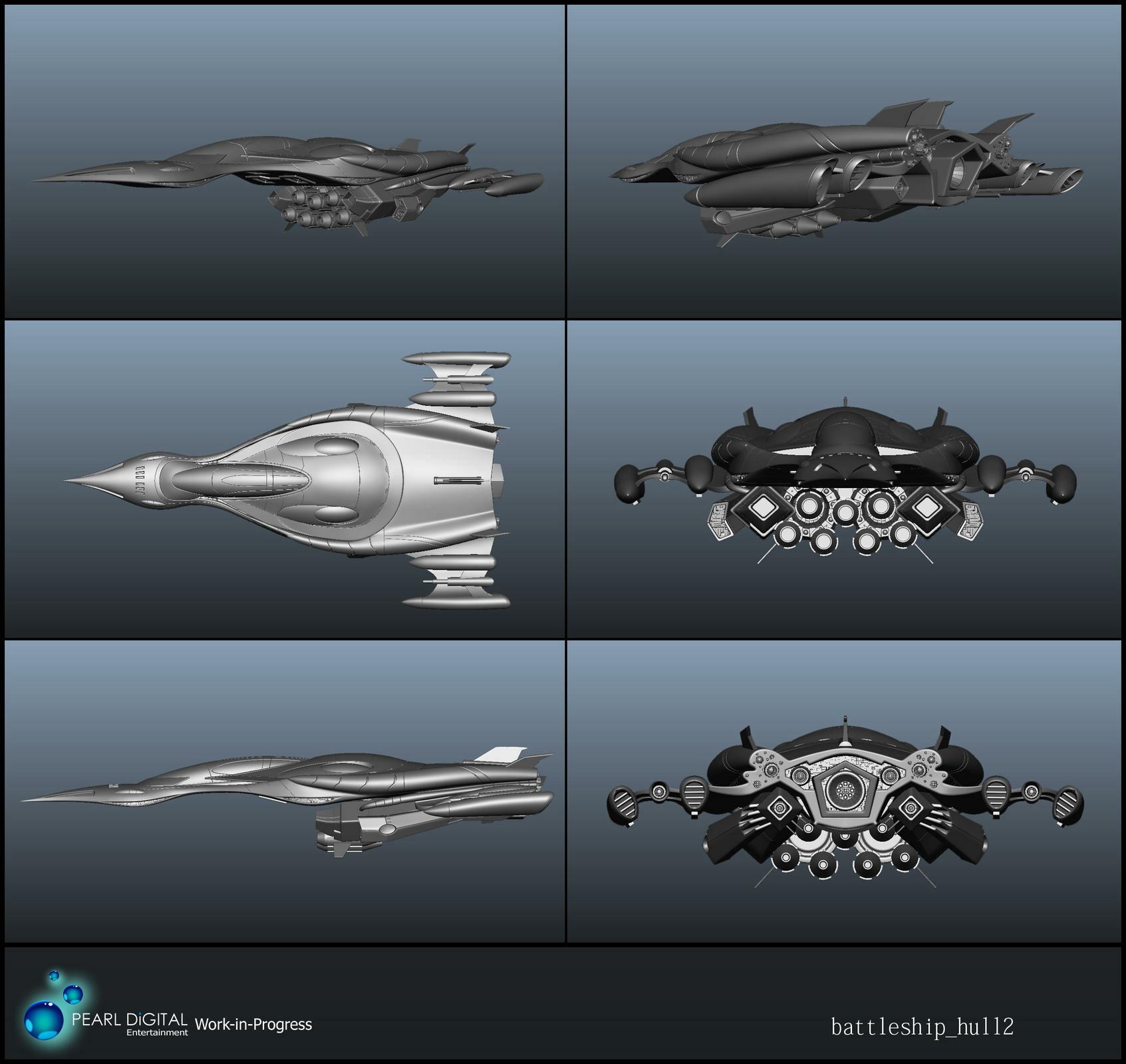 Sherif habashi 13 battleship hull2
