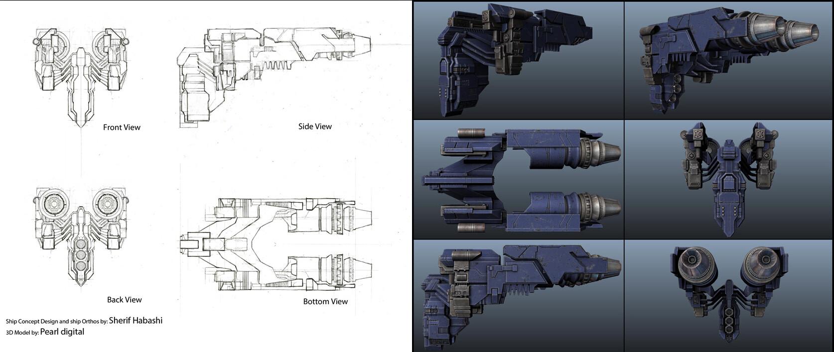 Sherif habashi 14 dreadnaught hull3