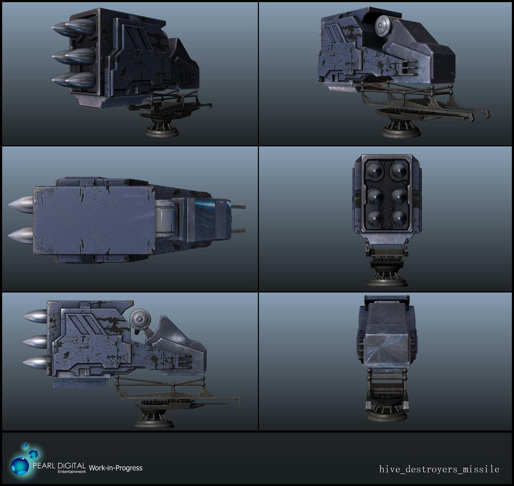 Sherif habashi 45 hive destroyers missile