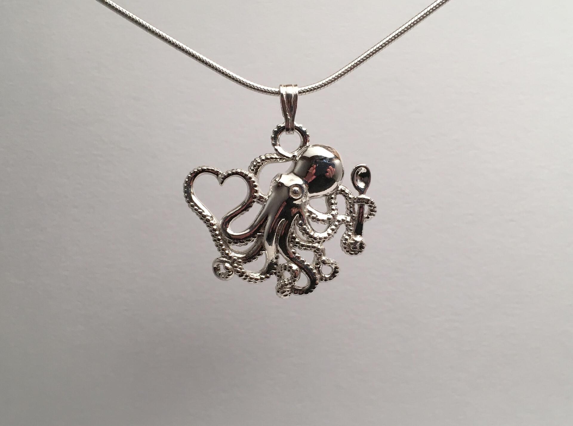Ken calvert octopus snake chain 1