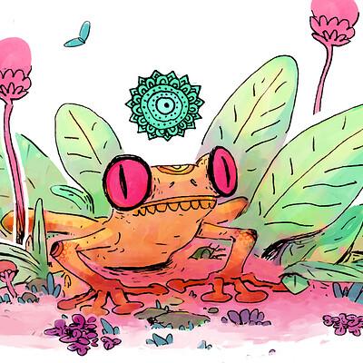 Corentin asproni grenouille mystique fin