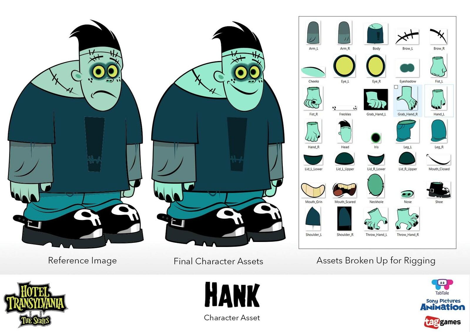 Character Assets - Hank