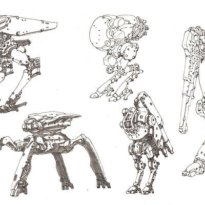 Min seub jung robot 17