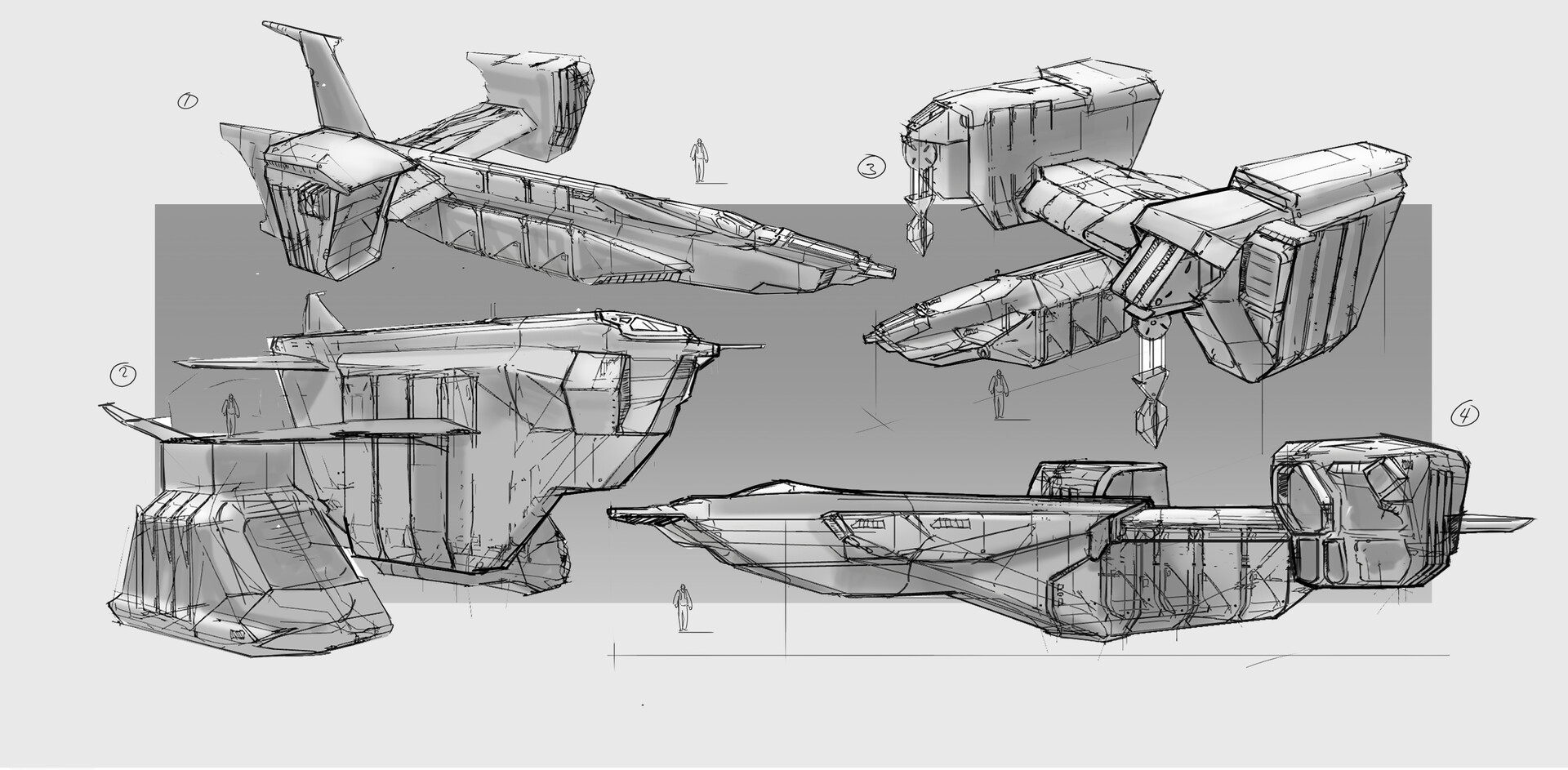 Henrik lundblx gp ship concepts