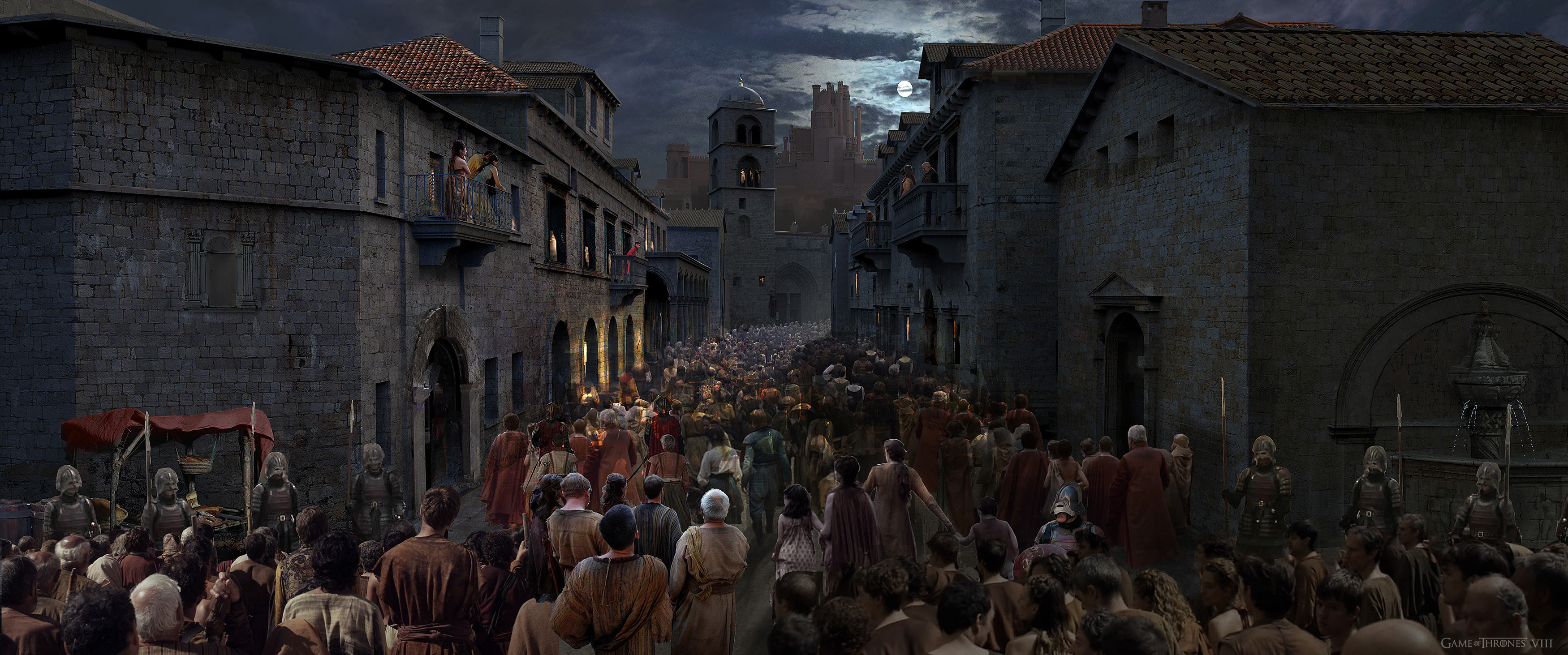 Main street - The masses enter Kingslanding