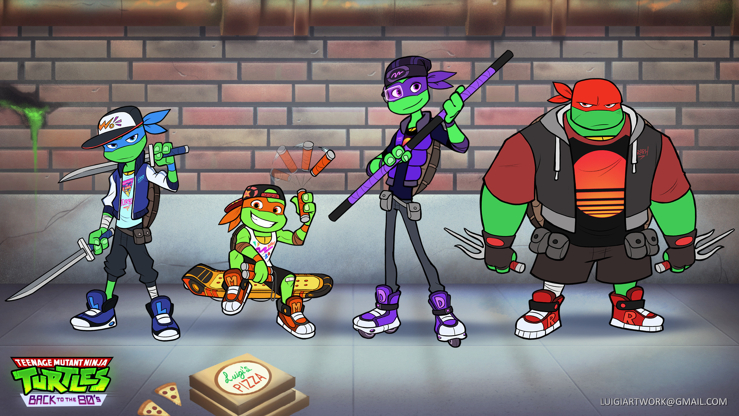 TMNT Clothed