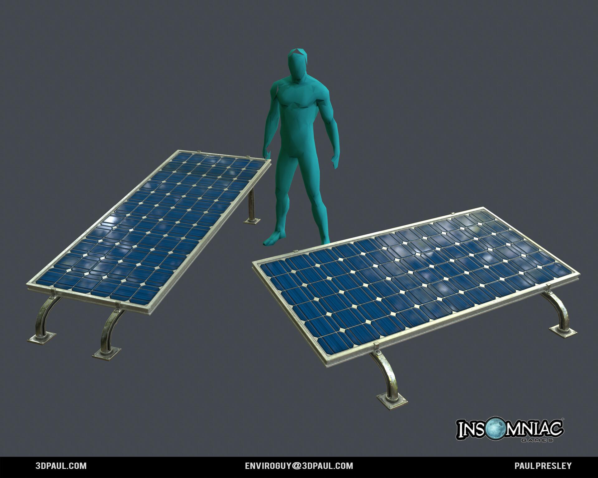 Paul presley ig spider 15 solar