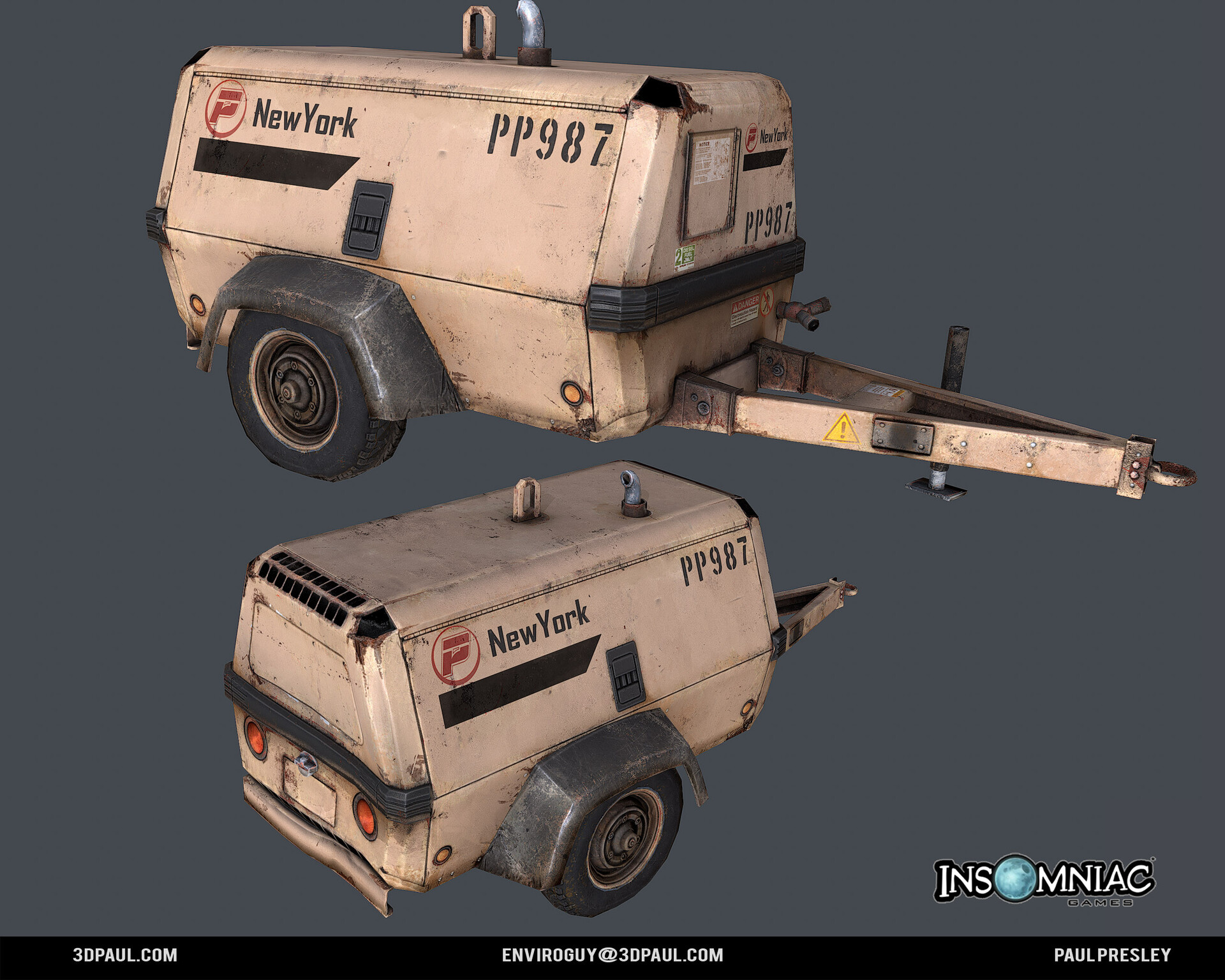 Paul presley ig spider 18 generator2